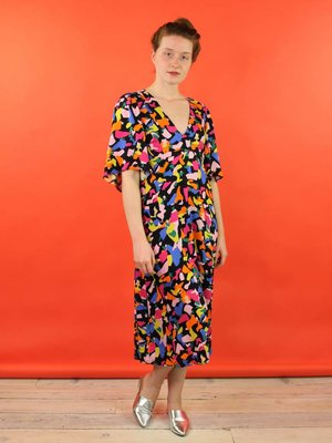 Traffic People Billie Dress - Pop