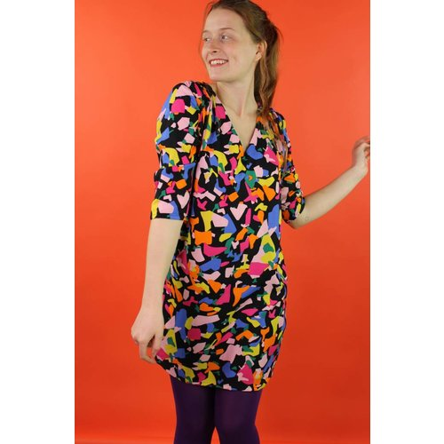 Traffic People Nelli Dress - Pop