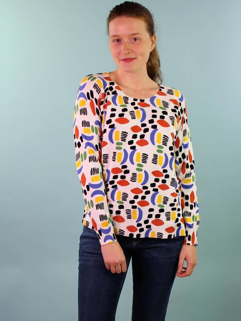 PepaLoves Leno L/S Sweater - Watercolor