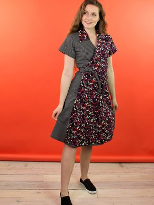Sarah Bibb Tootie Wrap Dress - Roswell/Dot