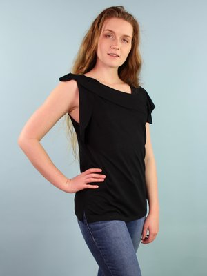 Eva Franco Xena Top - Black