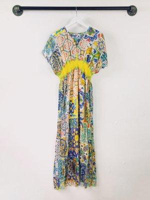 Johnny Was Moro Dress - Tile