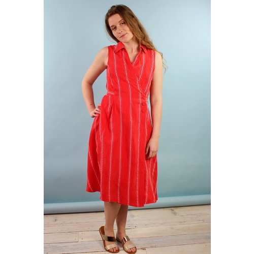 Eva Franco Dorrie Dress - Cana Stripe