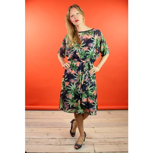 Sarah Bibb Fiona Dress - Jungle
