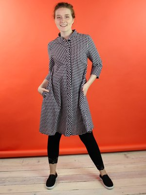 Zuri Shirt Dress - Check