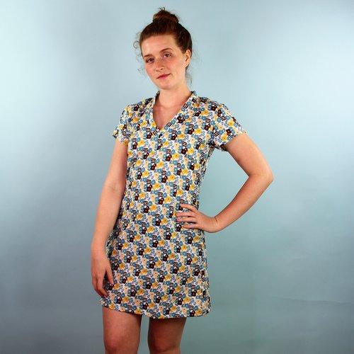 Sarah Bibb Kimmy V-Dress - Mood