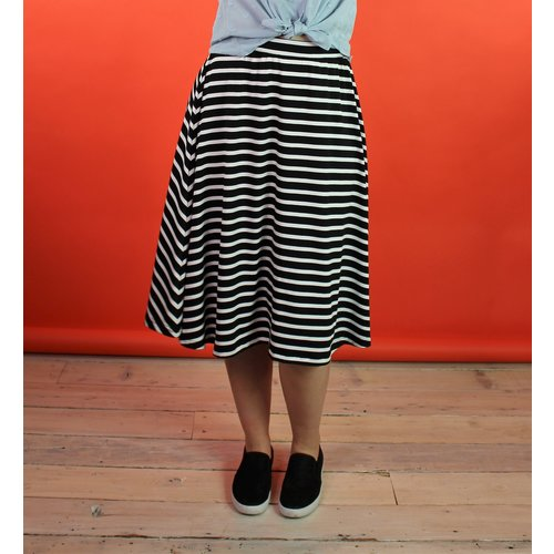 Sarah Bibb Syd Skirt Long - Icon Stripe