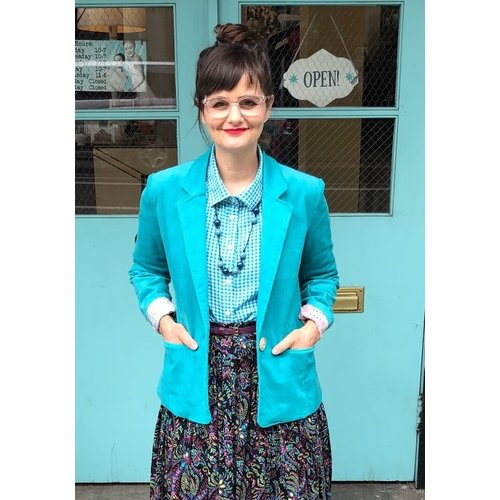Sarah Bibb Patricia Blazer - Turq/Java