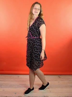 Sarah Bibb Emily Wrap Dress - Orbit