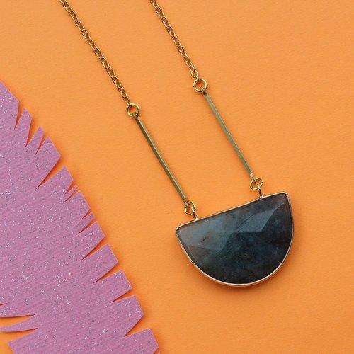 Nicole Weldon Labro Semi Necklace