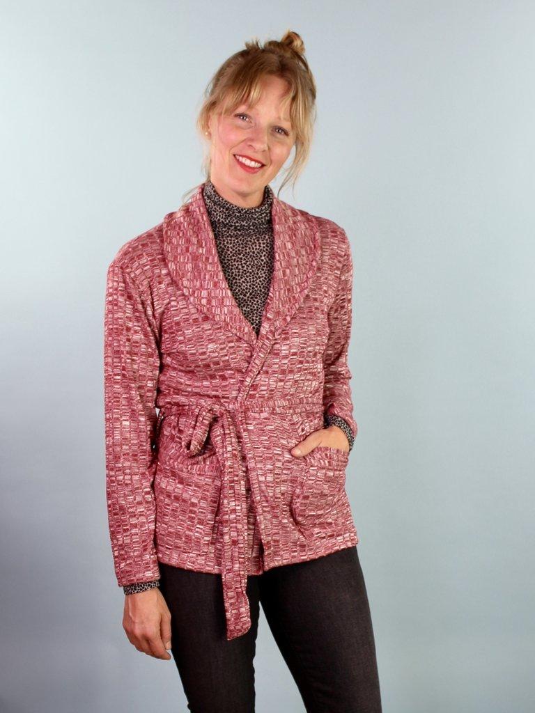Sarah Bibb Parker Sweater - Chili