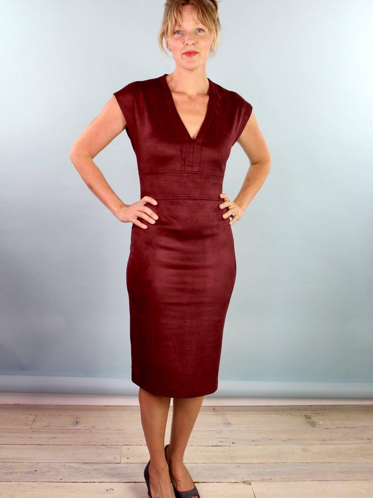 Level 99 Evan Dress - Rouge