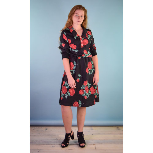 Sarah Bibb Michelle Dress - Rose City