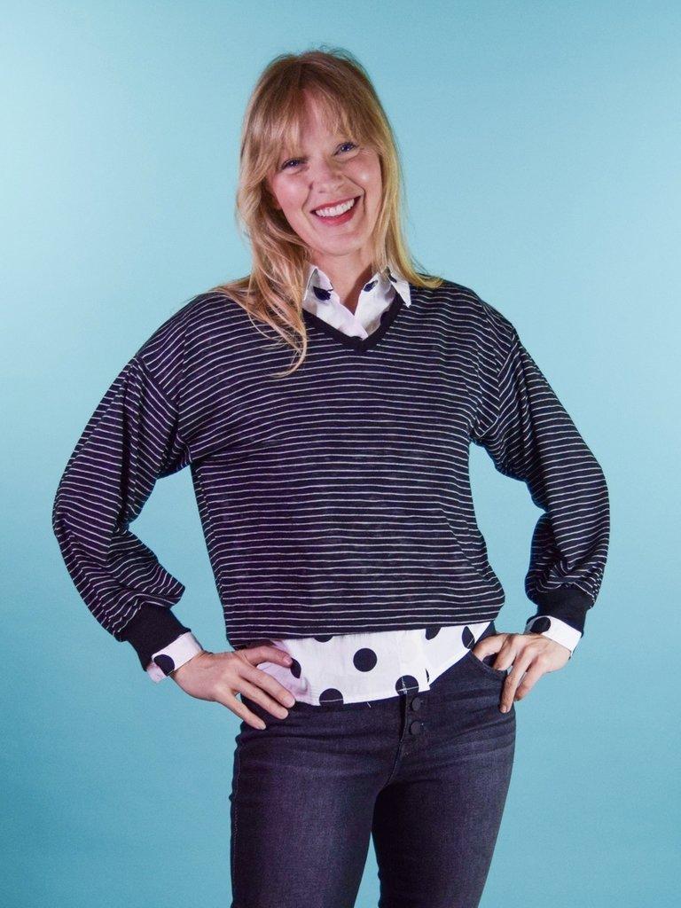 Sarah Bibb Jody Sweater - Prince