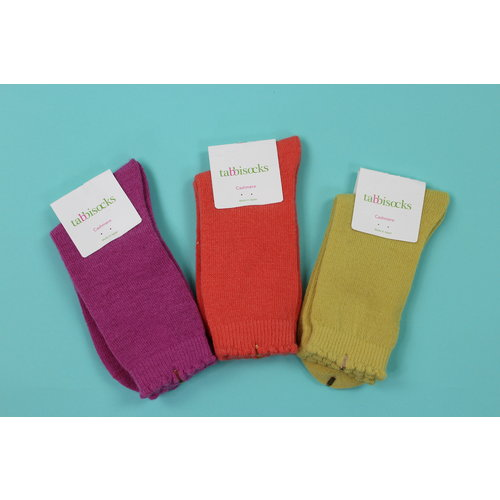 Tabbisocks Cashmere Crew Socks - Multiple Colors