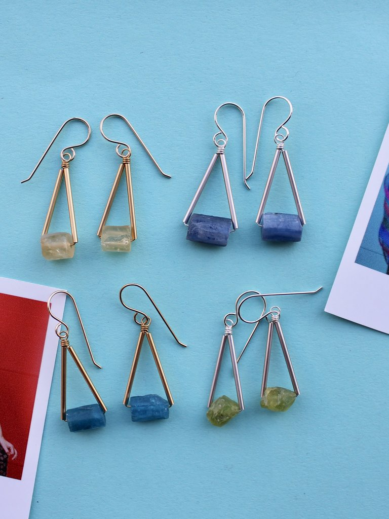 Stowaway Pavings Earrings - Multiple