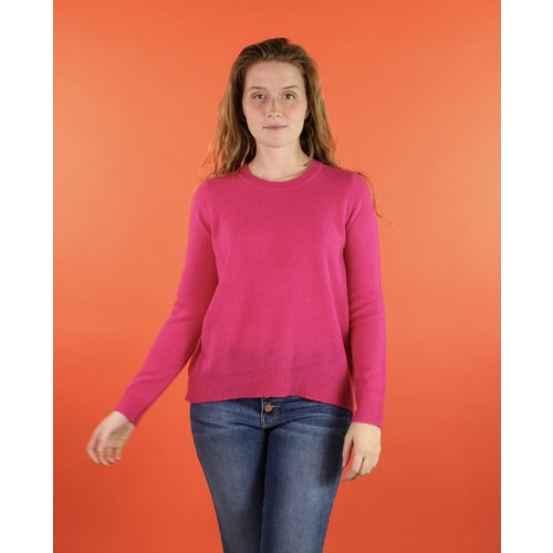 Oats Kena Cashmere Sweater - Hot
