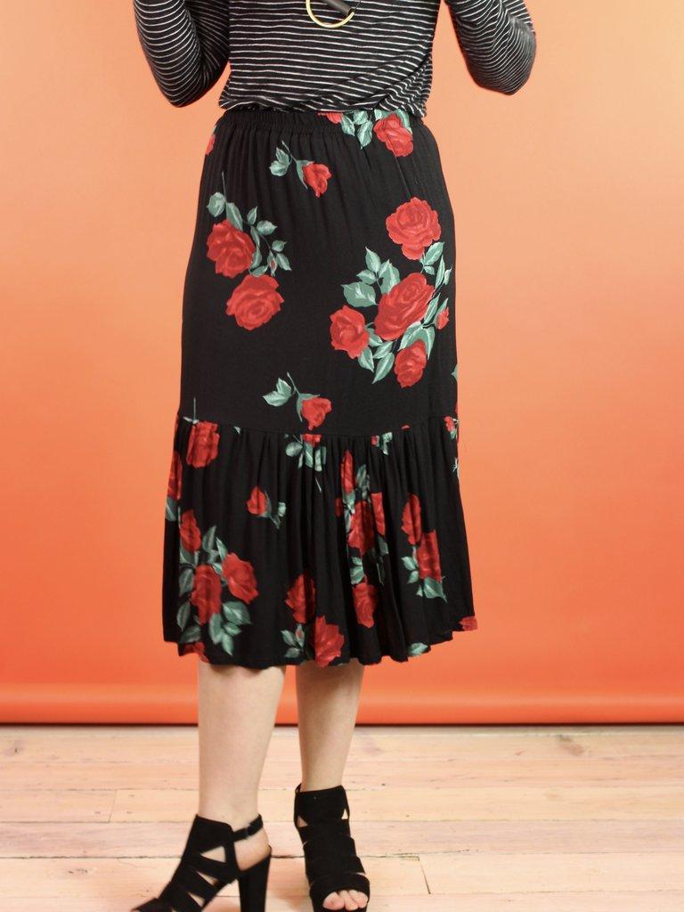 Sarah Bibb Moreau Skirt - Rose City