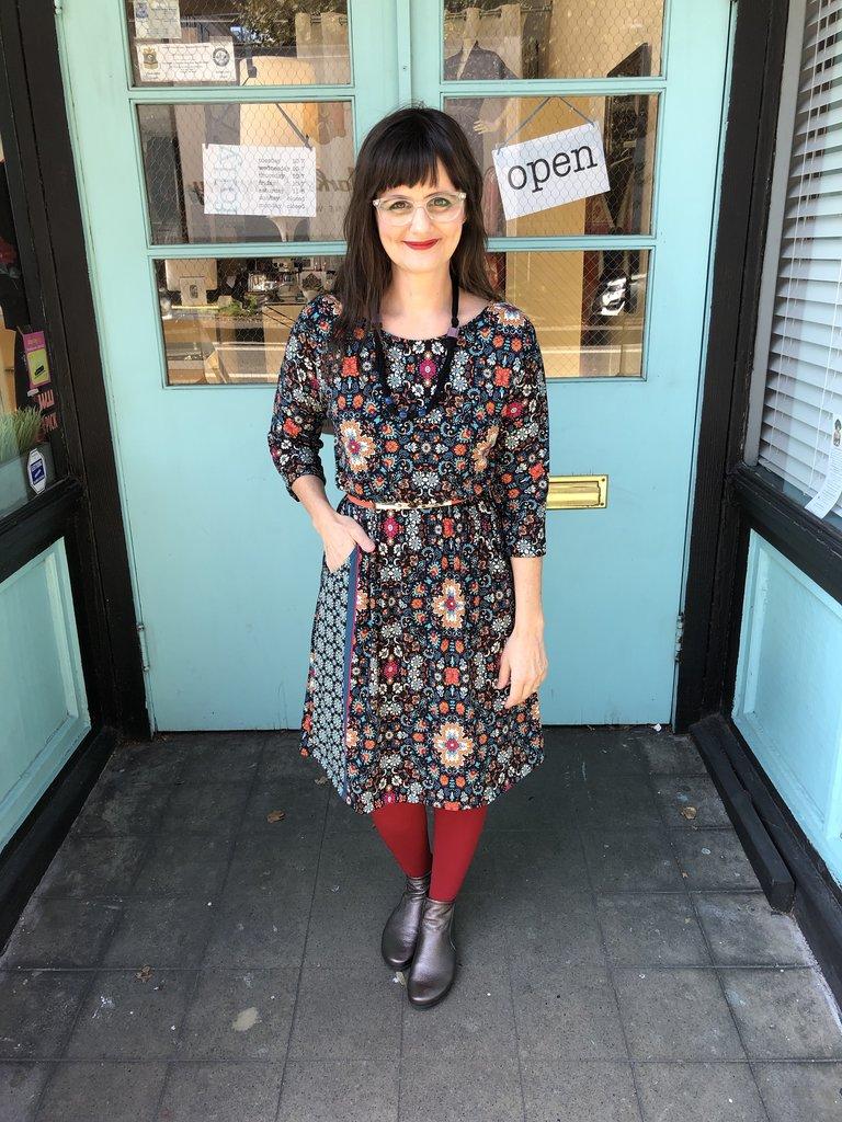 Sarah Bibb Jamie 3/4 Sleeve - Durham
