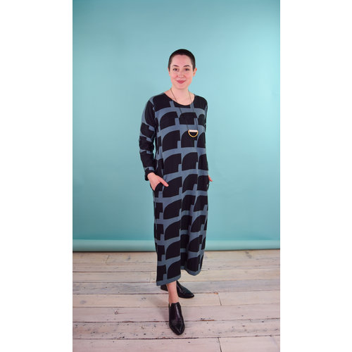 Bel Kazan Fritz Dress - Slate Boulder