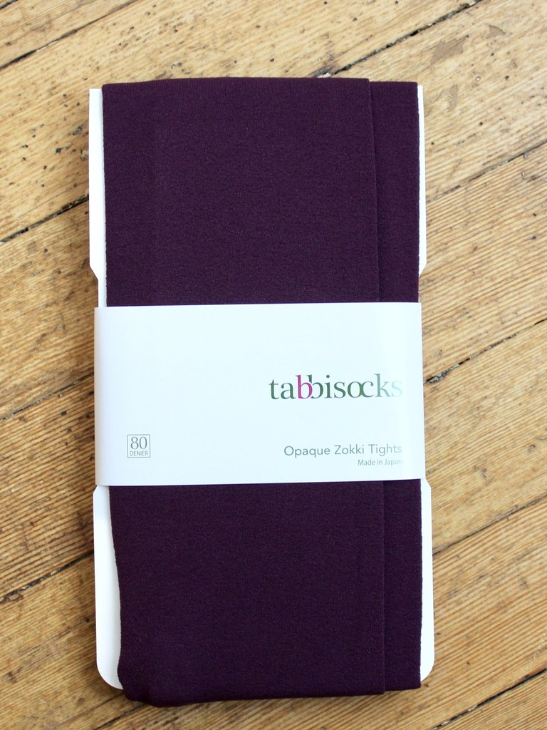 Tabbisocks KiKi Opaque Tights - Merlot