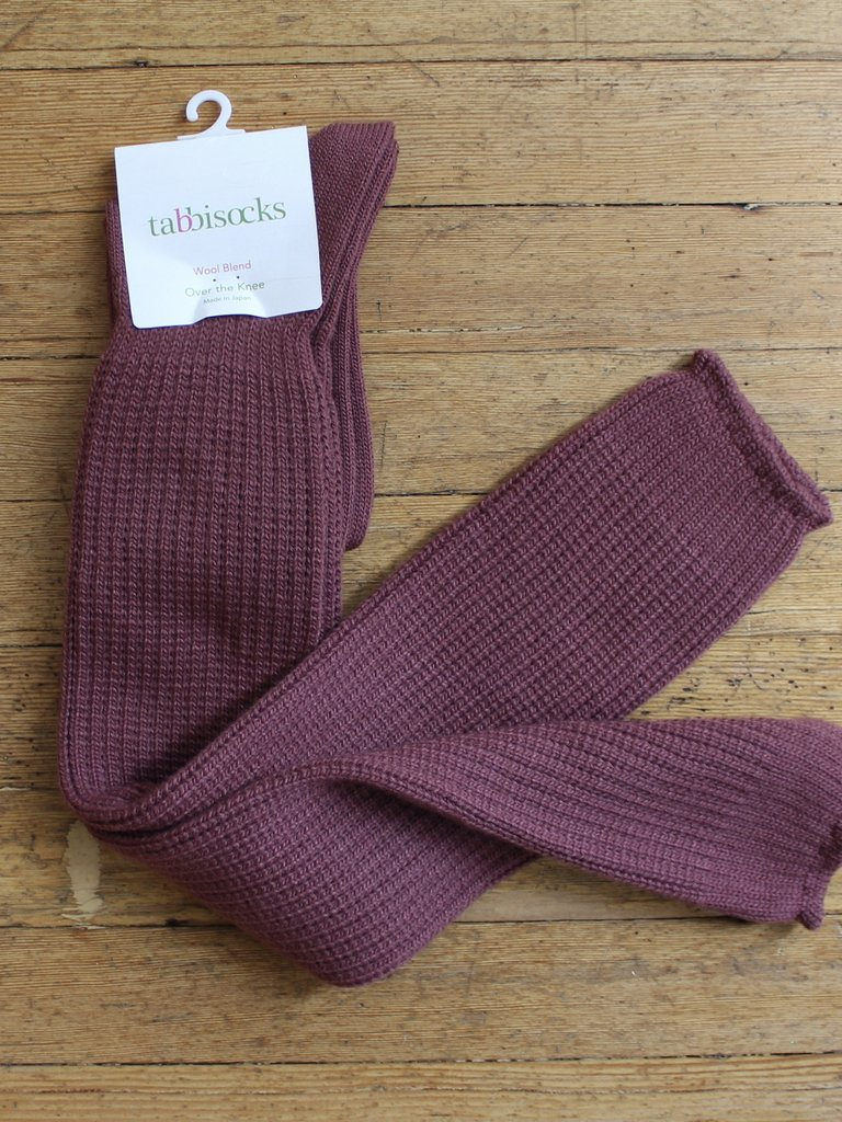 Tabbisocks OTK Socks - Mauve