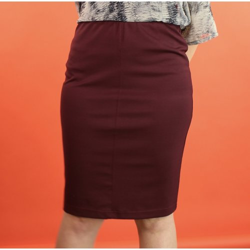Sarah Bibb Evan Pencil Skirt - Ox