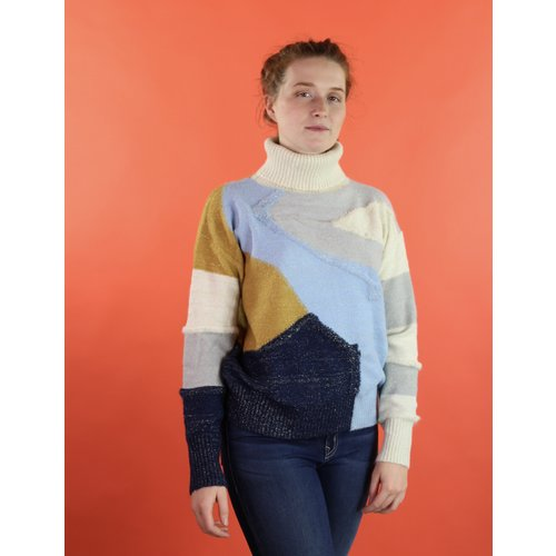 Frnch Norine Sweater - Block