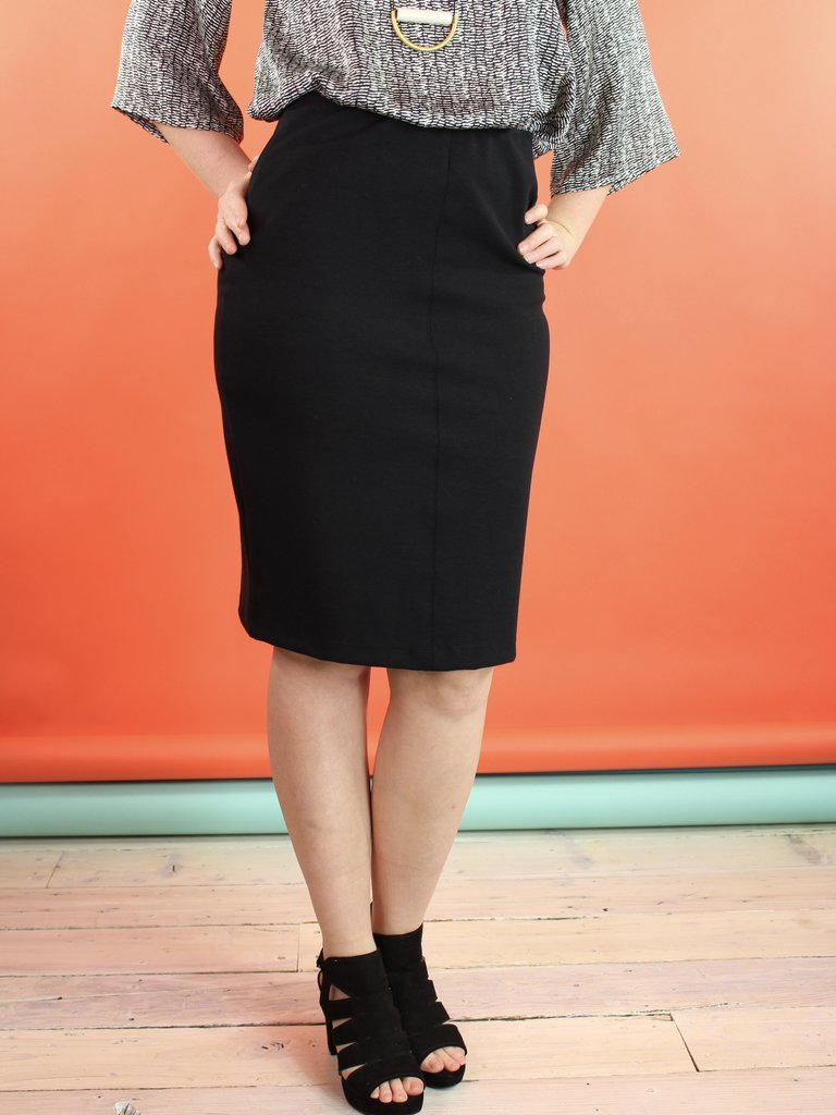 Sarah Bibb Evan Pencil Skirt - Black