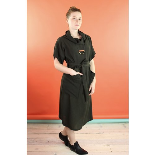 Sarah Bibb Marion Dress - Olive