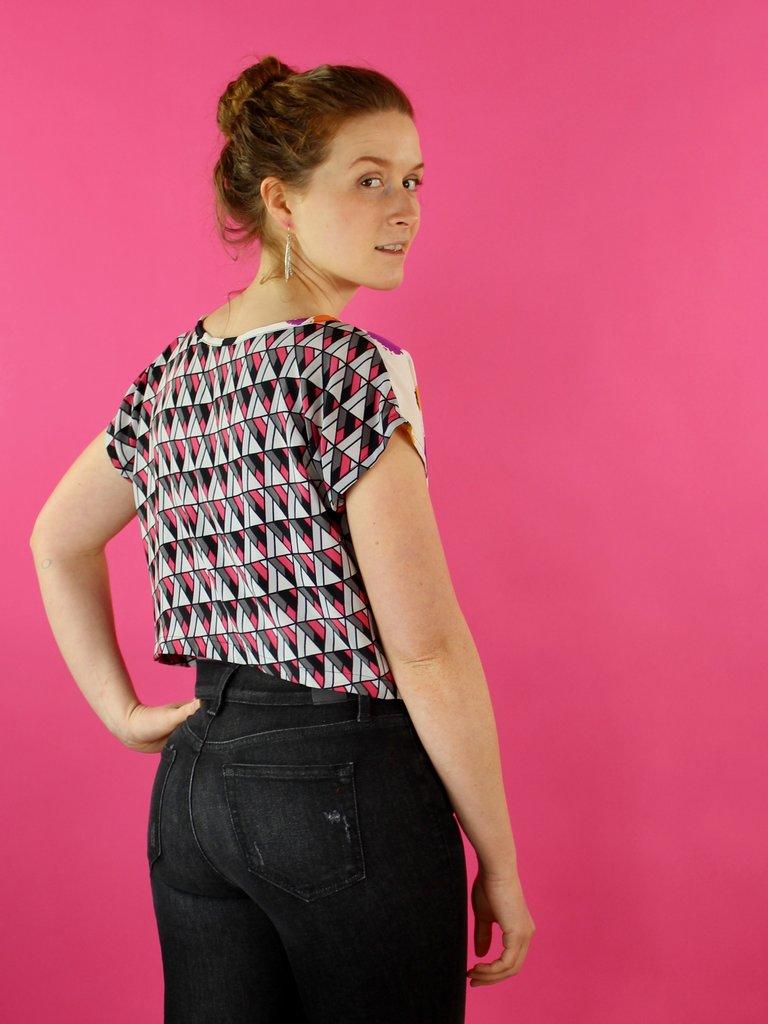 Sarah Bibb Rita Top - Stipple/Angles