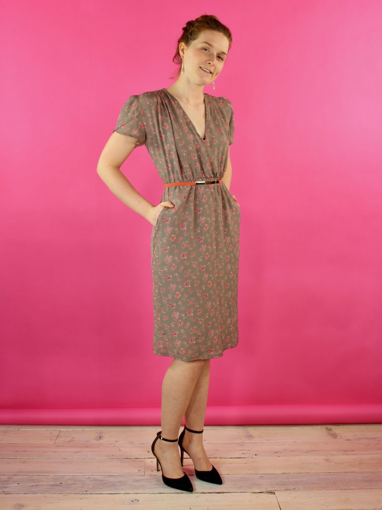 Sarah Bibb Tippi Dress - Pledge