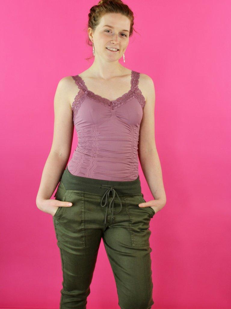 M Rena Favorite Lace Camisole - Mauve