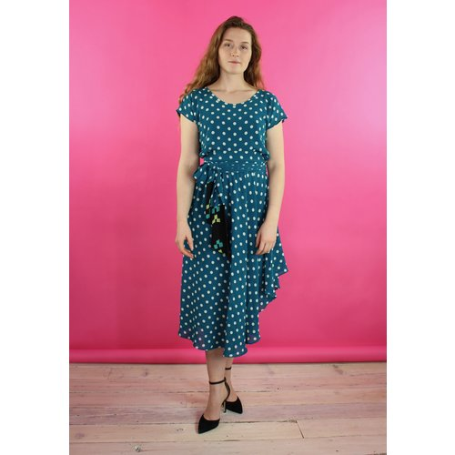 Sarah Bibb Nora Dress - Agean Dot