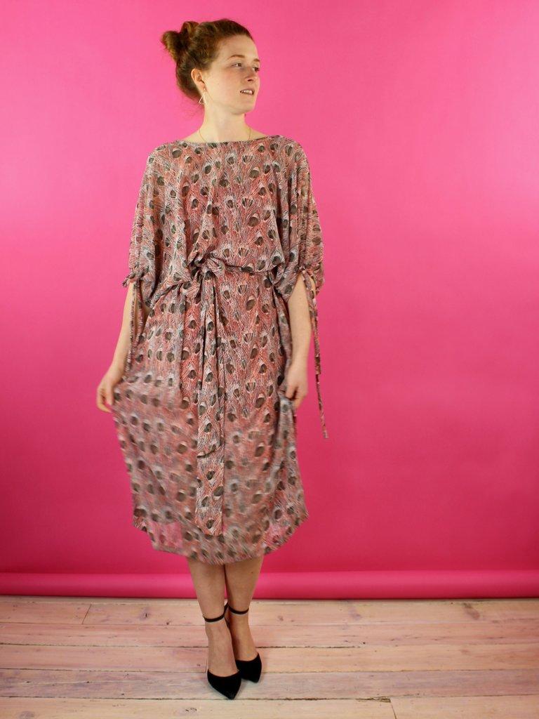 Sarah Bibb Athena Dress - Feather