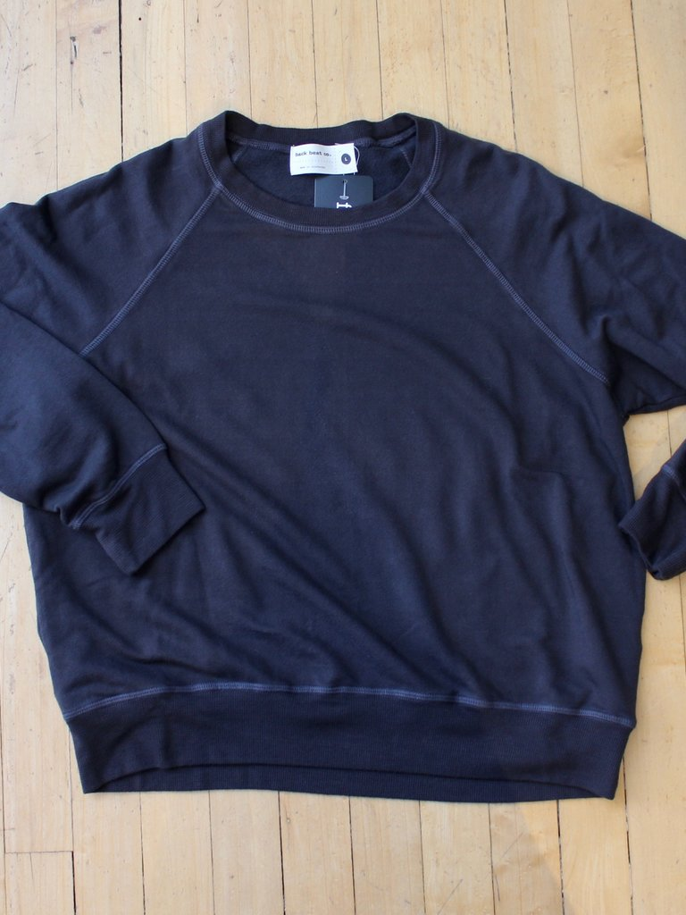 BackBeat Basic Sweat - Vintage Black