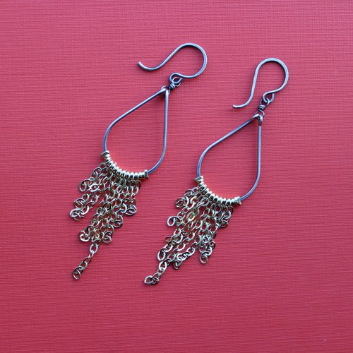 Amy Olson Mixed Arrow Earrings