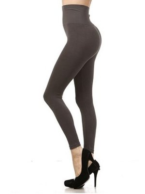 M Rena Tummy Tuck Leggings - Dark Grey