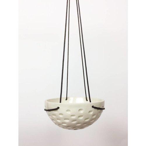 Large Hanging Bowl - Textured