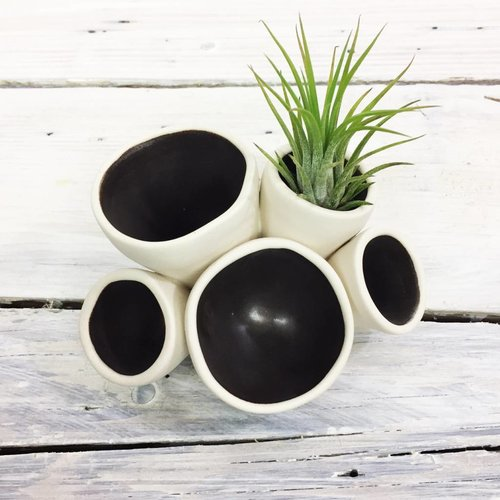 Ceramic Pods - Black