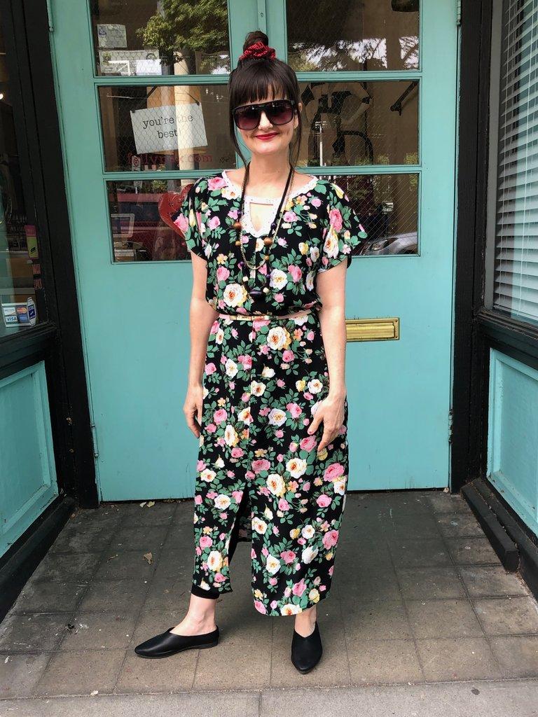 Sarah Bibb Tez Dress - Parade