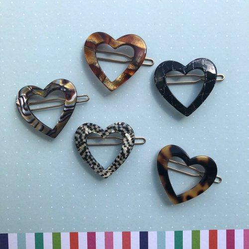 Sorca Barrette Sets - Assorted Hearts