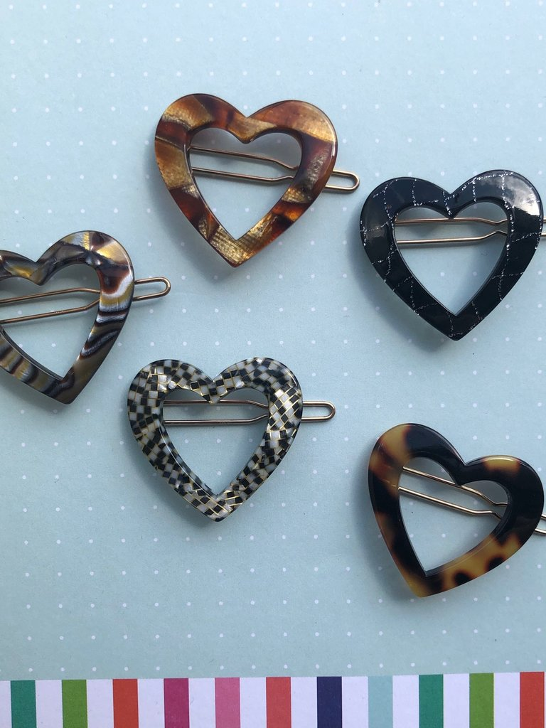 Sorca Barrette Sets - Assorted Hearts