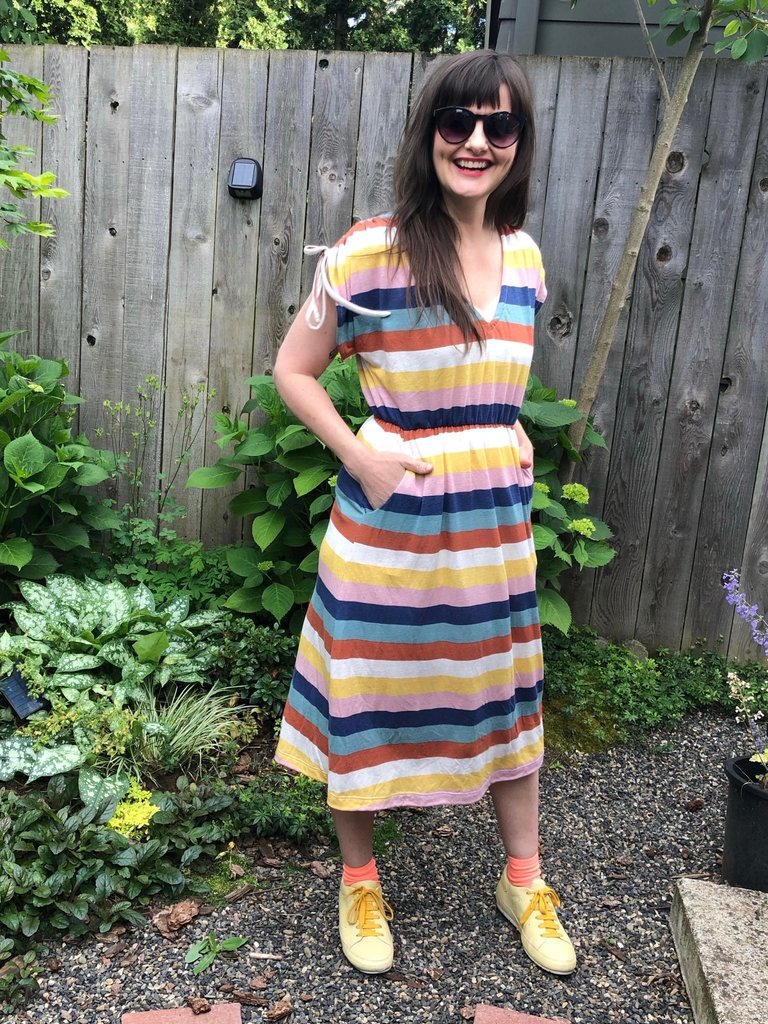 Sarah Bibb Calliope Dress - Desert Stripe