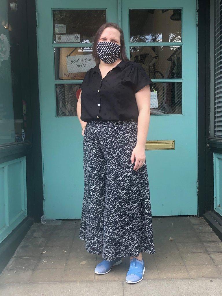Sarah Bibb Trista Wide Leg - Pebble