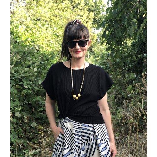 Sarah Bibb Lumi Top s/s - Rib