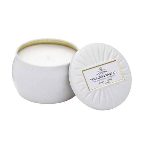 Voluspa Mini Tin - Bourbon Vanille