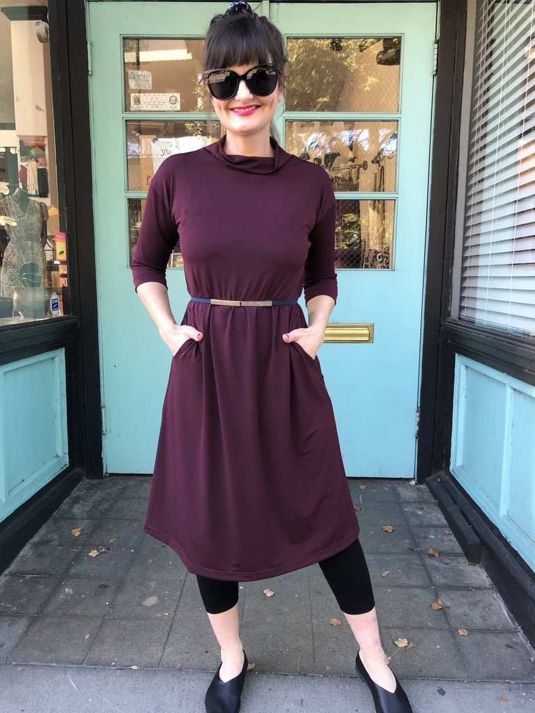 Sarah Bibb Tasha Dress - Syrah