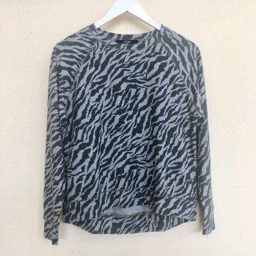 Coin Ragi Sweatshirt - Zebra