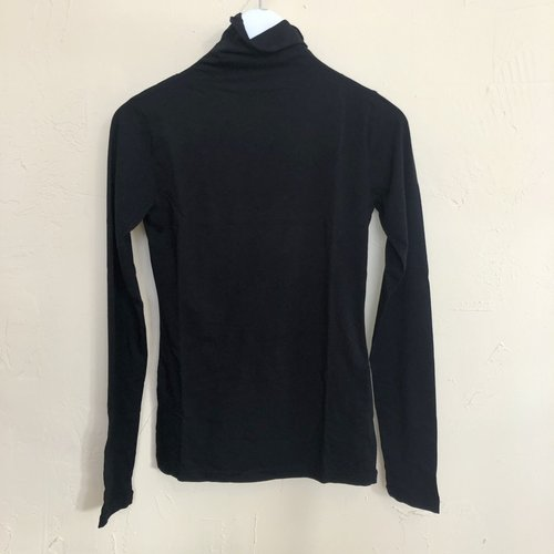 Velvet Tali Turtleneck - Black